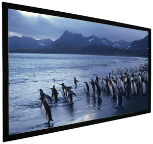 ACCUSCREEN 800018 92 Inch  HDTV Fixed Wall Sound Screen