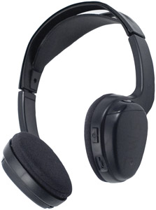 POWER ACOUSTIK WLHP-100    Wireless Infrared Headphones