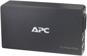 APC C2 2-Outlet C-Type A/V Wall Mount Power Filter