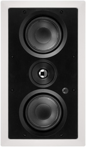 ARCHITECH PRO SERIES AP-525 LCRS Dual 5.25    2-Way All Channel In-Wall Loudspeaker