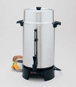 Focus 33600 West Bend 100 Cup Aluminum Coffee Urn RW126