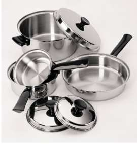 Focus K0351 7 pc. Stainless Steel Cookware Set