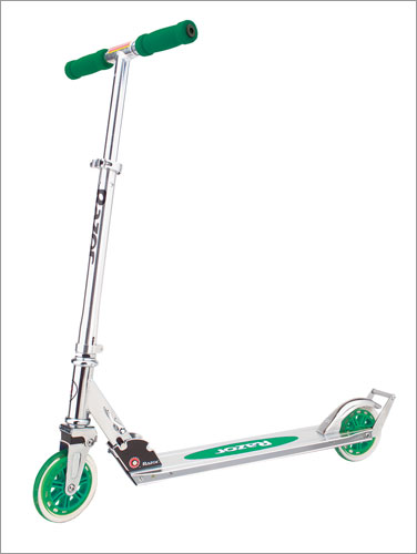 Razor 13014330 A3 Scooter - Green Scooter