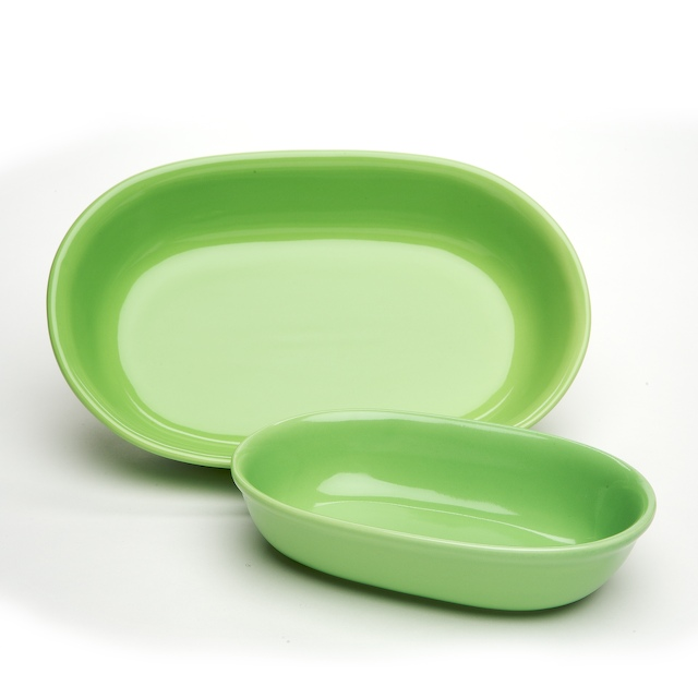 sengWare OBS-20120 Pistachio Pack of 1 1qt. Casserole Dish and 2 qt. Lasagna Dish Set