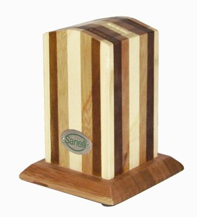 Sanelli CNF064 Bamboo Block For 6 Steak Knives