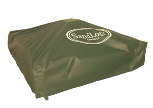 SandLock  SLB-9797CM 8 by 8      Sandbox Cover - Solid Vinyl