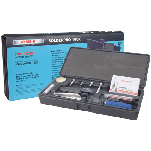 Solder It PRO-100K Complete Kit With Pro-100 Tool
