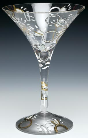 Santa Barbara GLS45520N Lolita Martini Glass Wedding