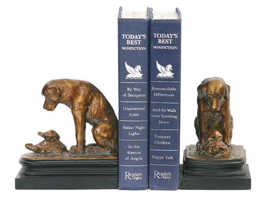 SI 91-1452 Pair Turtle Under Study Bookends