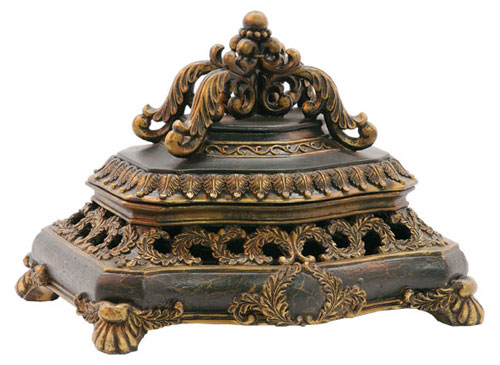 SI 91-3936 Laurel Wreath Keeping Box
