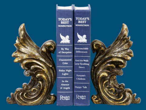 SI 93-5527 Pair Gothic Gargoyle Bookends