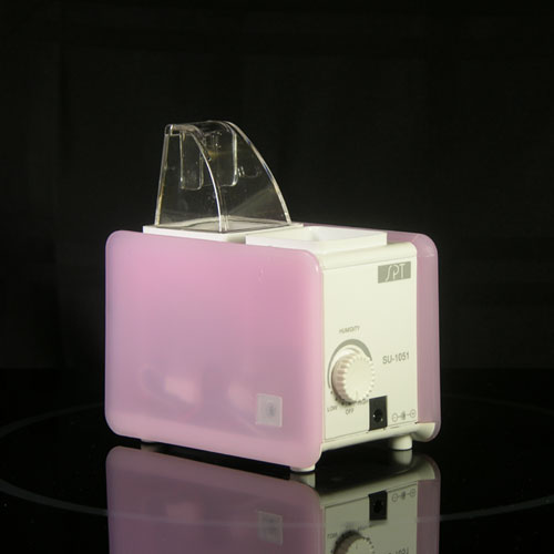 Sunpentown SU-1051P Portable Mini-Humidifier - Pink/White