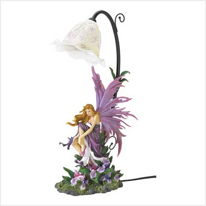 SWM 38832 Orchid Fairy Table Lamp