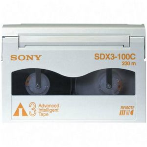 Sony SDX3-100C AIT-3 Data Cartridge - AIT AIT-3 - 100GB (Native)/260GB (Compressed)
