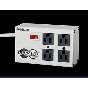 Tripp Lite Isobar IBAR4 4 Outlets Surge Suppressor - Receptacles: 4 x NEMA 5-15R - 2200J