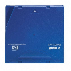 HP LTO Ultrium 1 Tape Cartridge - LTO Ultrium LTO-1 - 100GB (Native)/200GB (Compressed)