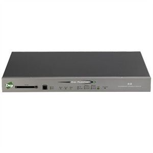 Digi Passport 16 Port Integrated Console Server - 16 x RJ-45 Serial LAN  2 x RJ-45 10/100Base-TX  - 100Mbps - Console Server