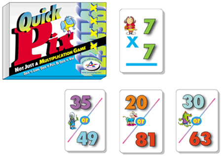 Talicor 113A Quick Pix Multiplication Memory Game