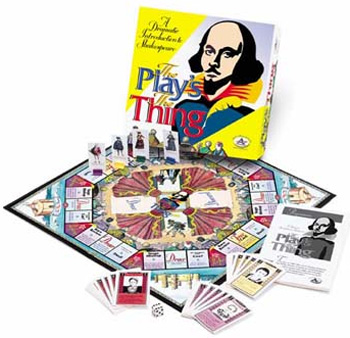 Talicor 413 The Play s the Thing Board Game