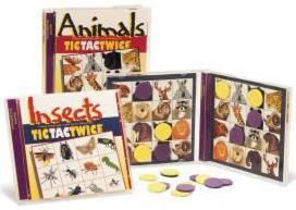 Talicor 805MA Animal Magnetic Tic Tac Twice Game TAL2038