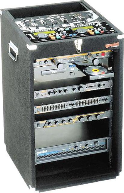 GCI TECHNOLOGIES MRC16 DJ Equipment Road Case