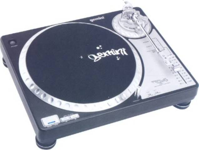 GCI TECHNOLOGIES TT04 High Torque direct drive turntable, Adjustable Pitch, CPU controlled