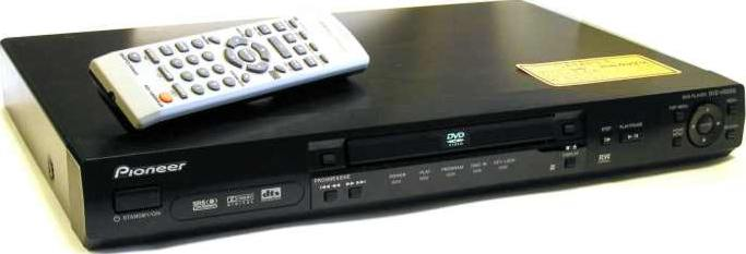 Progressive Electronics - PIONEER ELECTRONICS USA DVDV5000 Pro DVD Player With Progressive Scan And RS232 Port