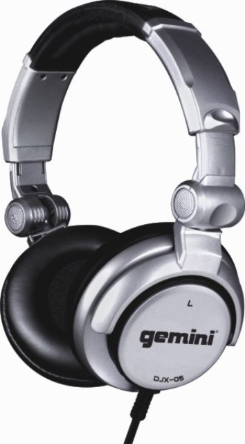 GCI TECHNOLOGIES DJX05 Professional Monitoring Headphones with high-output 50mm drivers