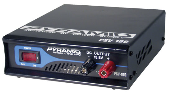 Electronic Supply - SOUND AROUND ELECTRONICS PSV40 Fully Regulated Low Ripple 3-Amp Switching DC Power Supply