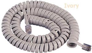 ICC 2500IV ICHC425FIV 25 Foot Ivory Handset