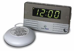 Sonic Bomb SA-SB200SSEU Alarm Clock w/ Bed Shaker