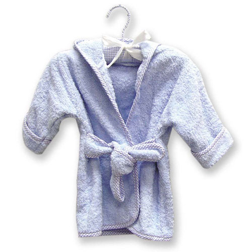Terry Robe - Trend Lab 100050 TERRY INFANT ROBE BLUE