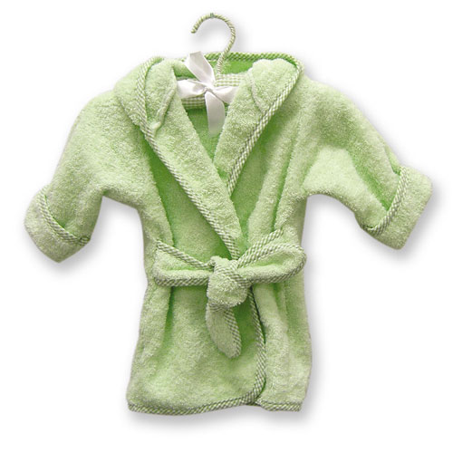 Terry Robe - Trend Lab 100053 TERRY INFANT ROBE SAGE