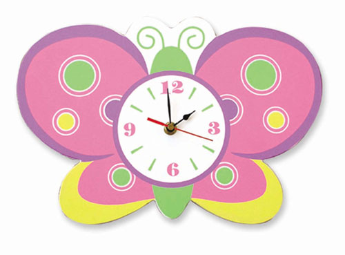Trend Lab 100222 Butterfly Wall Clock