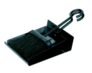 Uniflame B-1006 BLACK SHOVEL AND BRUSH SET WITH PAN