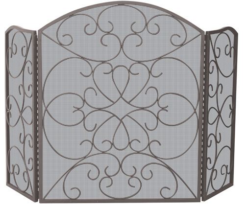 Uniflame S-1600 3 FOLD BRONZE SCREEN WITH