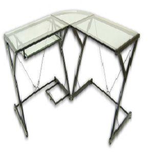 Walker Edison Furniture D51Z29-3-Piece Imperial Desk
