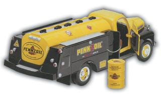 1/25 1951 Pennzoil Tank Truck with Display Stand