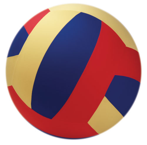 Yellowtails YTC-075 Cage Ball Multicolor Volleyball 40 Inch Each