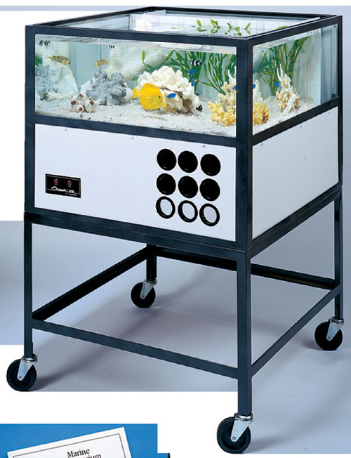 Hubbard Scientific 35155 Oceanic Saltwater Aquarium  55