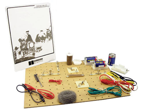 Hubbard Scientific R-100891A Circuits and Electromagnetism Kit