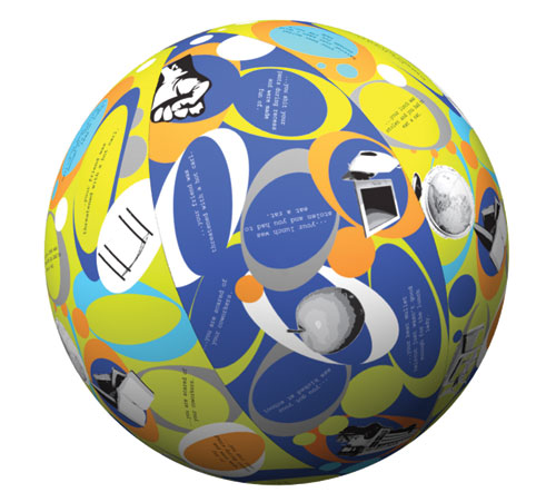 Scott Resources SR-1393 Clever Catch Bully Reaction Ball