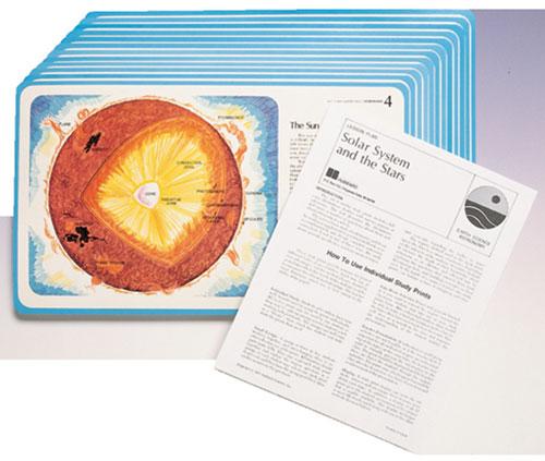Hubbard Scientific 110 Astronomy Study Prints Set of 12