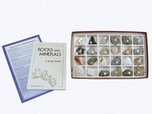 Hubbard Scientific 2124 Rocks and Rock Forming Mineral Collection