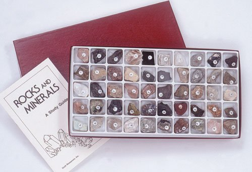 Hubbard Scientific 2130 Classroom Collection of Rocks Minerals