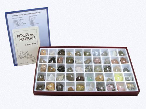 Hubbard Scientific 2135 Superior Rocks and Minerals Collection