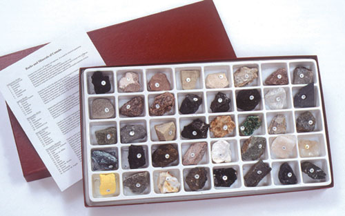 Hubbard Scientific 2160 Canadian Rock and Mineral Collection
