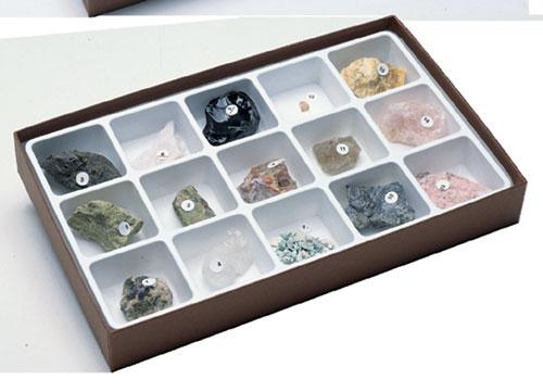 Hubbard Scientific 2310 Gem Minerals Collection
