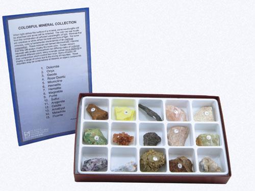 Hubbard Scientific 2331 Colorful Minerals Collection