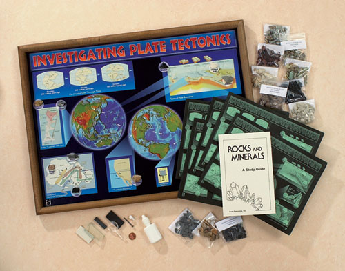 Hubbard Scientific 2723 Investigating Plate Tectonics Classroom Project